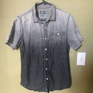 Other - Acid Wash Denim Shirt